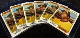 1974 Topps #456 Dave Winfield Rookie Card, Lot Of (6)