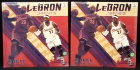 Pair Of 2011 Lebron James Cleveland Cavaliers Wall