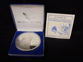 1997 Walking Liberty Eagle One Quarter Pound .999 Fine