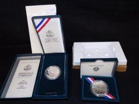 1991-p Korean War Memorial Commemorative Silver Proof
