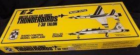 Ez Thunderbirds T-38 Talon Radio Controlled Airplane