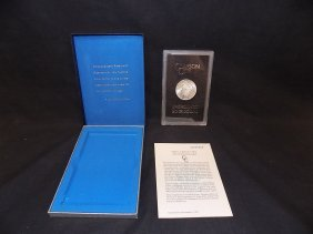 1884-cc Morgan Silver Dollar Coin - Brilliant