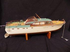 "1950's Chris-craft Luxury Boat Display Model 31"" Long"