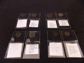 (8) Byzantine Coins Leo Vi/constantine Vii & X/alexius