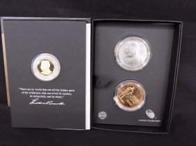 Us Mint 2013 Theodore Roosevelt Three Piece Coin And