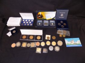 Misc Coin And Collectible/medallion Lot Susan B Anthony