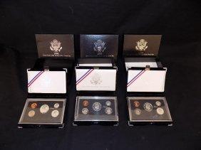 1996 1997 1998 Us Mint Premier Silver Proof Sets