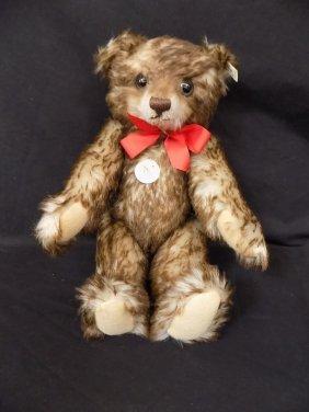 Steiff Mohair Tedday Bear, Happy, Replica 1926 Ean
