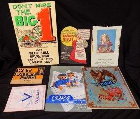 Interesting Advertising Lot, Carnival, Dutch Boy,