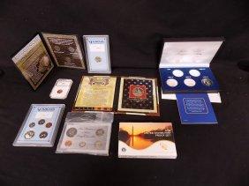 Misc Us Coin Set, Graded & Commemorative Lot Incl 1968