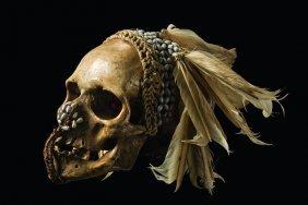 "Ancestor Skull ""ndambirkus"" - Papua New Guinea, Asmat"