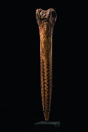 Bone Dagger - Papua New Guinea - Sepik