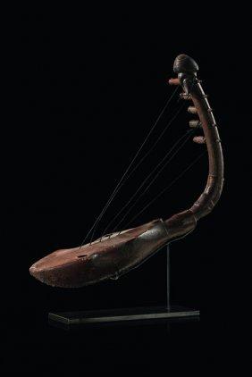 """Bow Harp """"kundi"""" - D. R. Congo, Azande"""