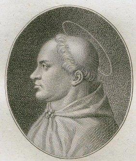 Quirin Mark. Portrait Of Saint Victor. 1809.