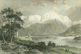 Caledonian Canal. Scotland. 1836.
