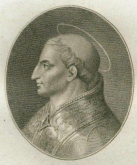 Quirin Mark. Portrait Of Saint Urban. 1809.