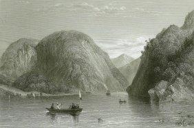 Rogers Slide Lake George. Usa. 1839.