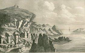 The Kullen Lighthouse. Sweden. 1838.