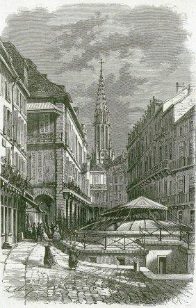 The Roman Bath. France. 1867.