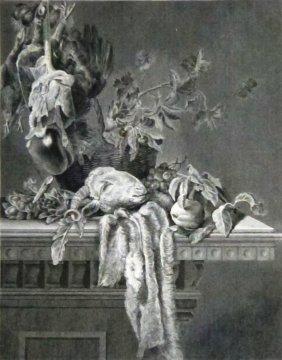 Van Aelst. Still Life With Fruit. Netherlands. 1843.