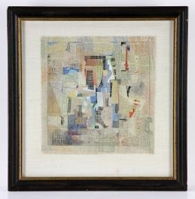 """Villet, """"Africa,"""" Collage"""