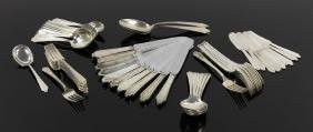 Set Of International Sterling Silver Flatware