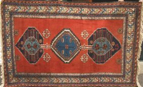 "Semi Antique Meshkin Ardebil Rug, 9' 3"" X 6' 2"""