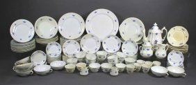 (157) Piece Set Of Adderley's English Bone China
