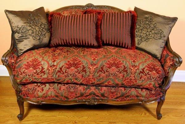 1066 louis xiv style sofa lot 1066 - Louis xiv sofa ...