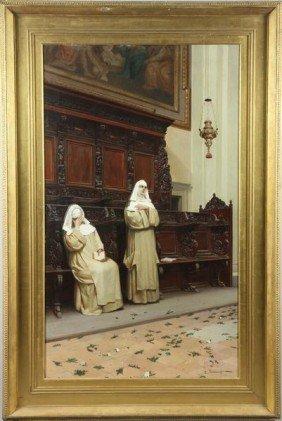 Tarenghi, Nuns Of St. Theresa, O/c