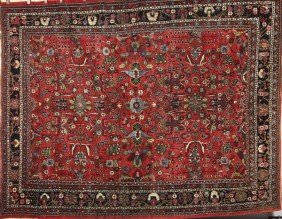 Semi Antique Persian Lillihan Rug