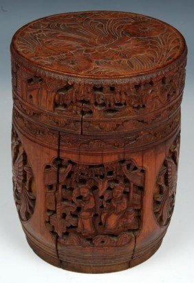 Chinese 19th C. Tobacco Jar