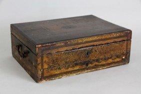 Early 19th C. China Trade Sewing And Writing Box