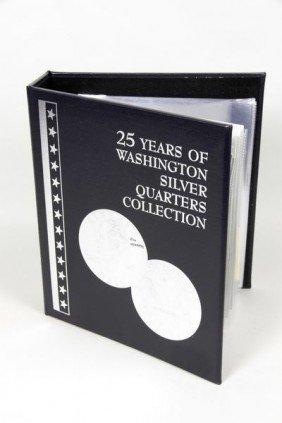 Washington Quarters And JFK Half-Dollars