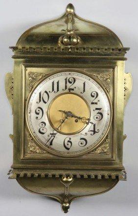 Chelsea Works Brass Clock