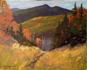James, NH Fall Landscape, O/C