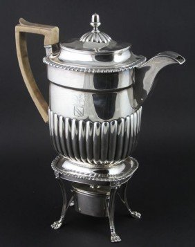 English Silver Kettle