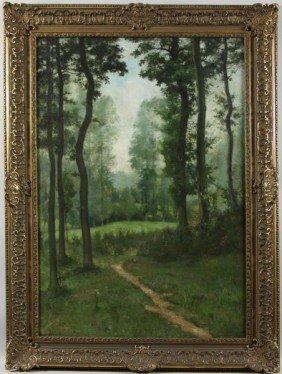 Klodt, Forest Landscape, O/C