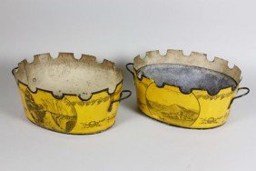 Pair Of 19th C. French Bowls