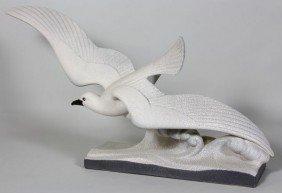 Circa 1920, Sevres Pottery Figure