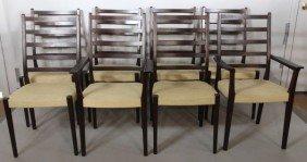 8 Markaryd Sweden Teak Dining Chairs