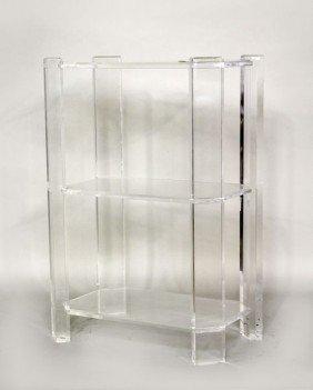 Modern Lucite Shelf