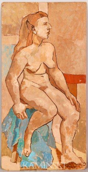 Rubin, Female Nude, O/B
