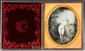 Daguerreotype Of French Nude
