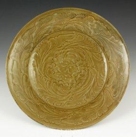 Chinese Song Yaozhou Glazed Bowl