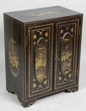Small Lacquered Cabinet
