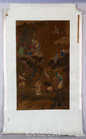 17th/18th C. Chinese Scroll Painting