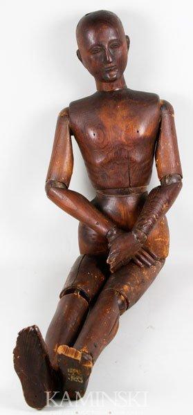 19th C. Artist's Mannequin
