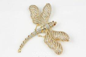 Custom Dragon Fly Pin