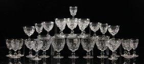 English Tudor Crystal Stemware